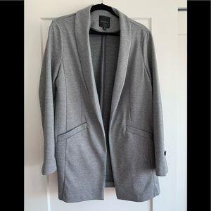 Dynamite Spring & Summer Light Grey Blazer Unlined